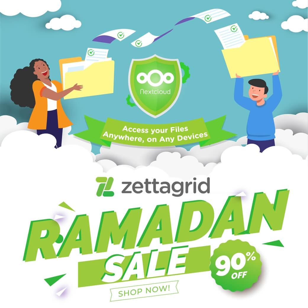 Promo Nextcloud x ZG Ramadhan