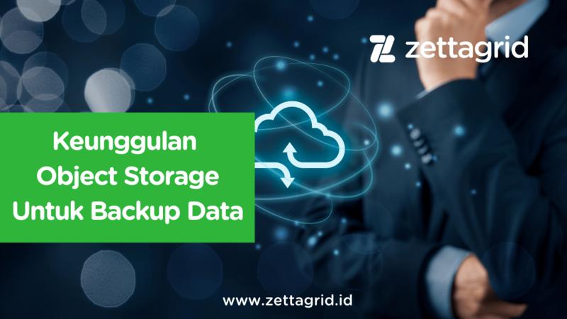 object storage untuk backup